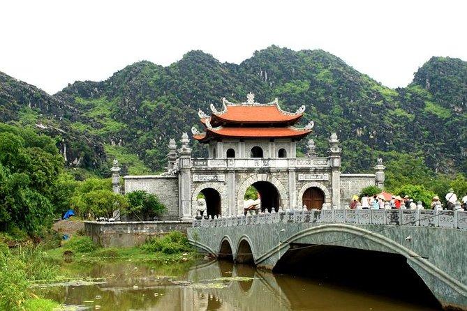 Hoa Lu Tam Coc 1 day with Biking & Foot Massage