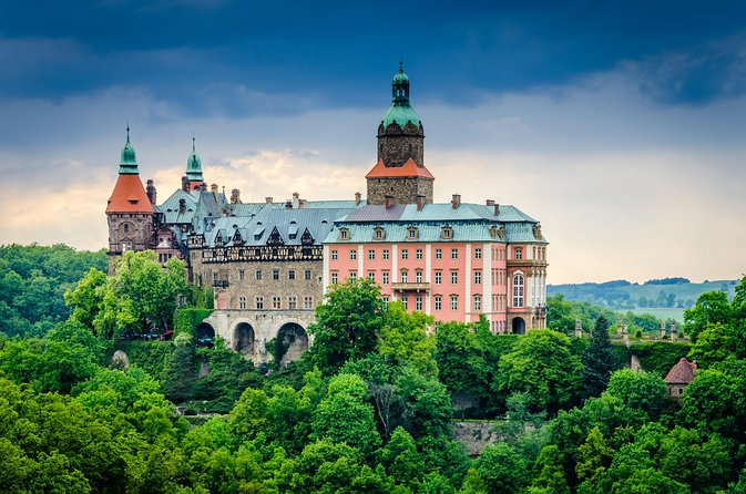 Wroclaw to Gross Rosen and Ksiaz Castle Private Tour