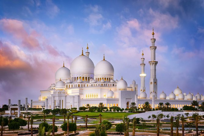 Abu Dhabi City Tour+Lunch with Sharing Transfers