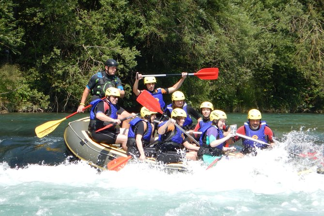 rafting on sava river in bled slovenia