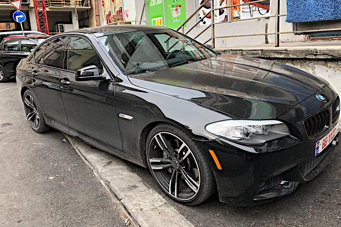 Transfer from Tbilisi airport with luxury BMW car