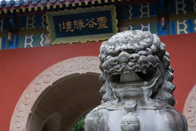 Nanjing Purple Mountain Peak Tour with Ropeway Ride and Linggu Temple Tea Time