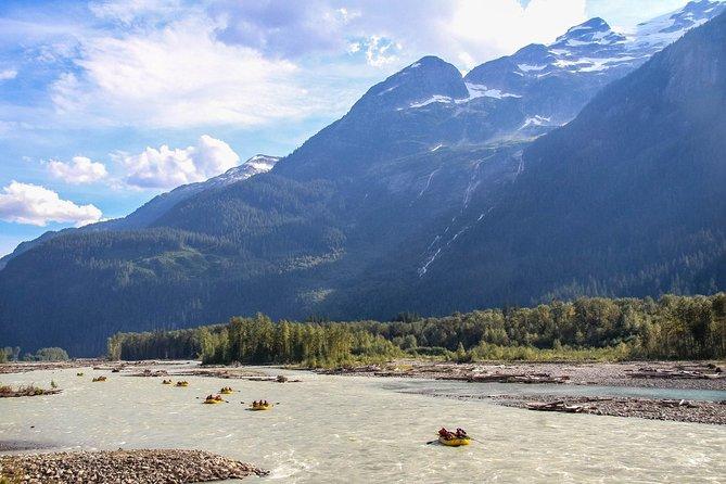 Family Friendly Cheakamus Splash Rafting - Squamish Departure