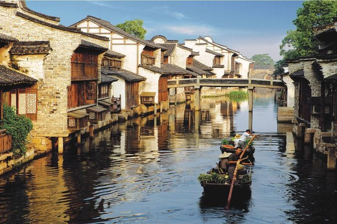 Hangzhou Private Tour to Wuzhen and Xitang Water Town with Dinner and Boat Ride photo 2
