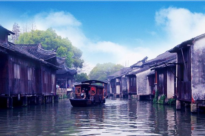 Hangzhou Private Tour to Wuzhen and Xitang Water Town with Dinner and Boat Ride photo 6