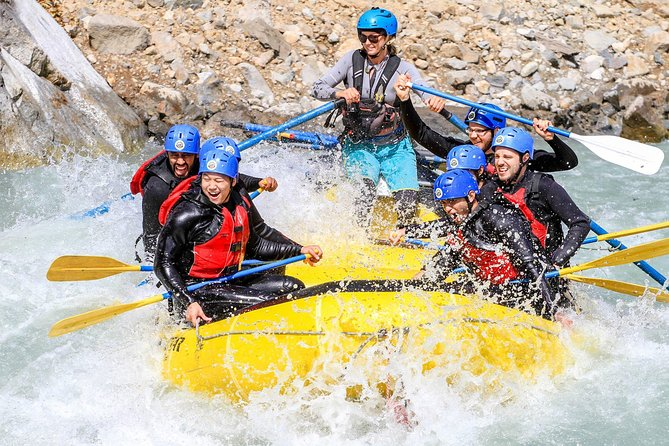 2-Day Camping and River-Rafting Trip in Squamish