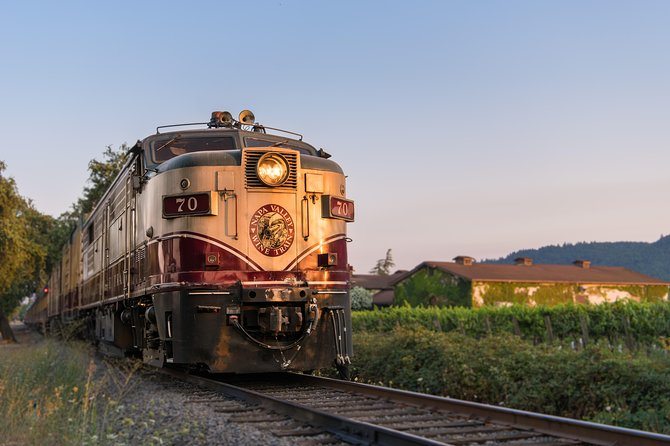 Napa Valley Wine Train con almuerzo gourmet y transporte desde San Francisco