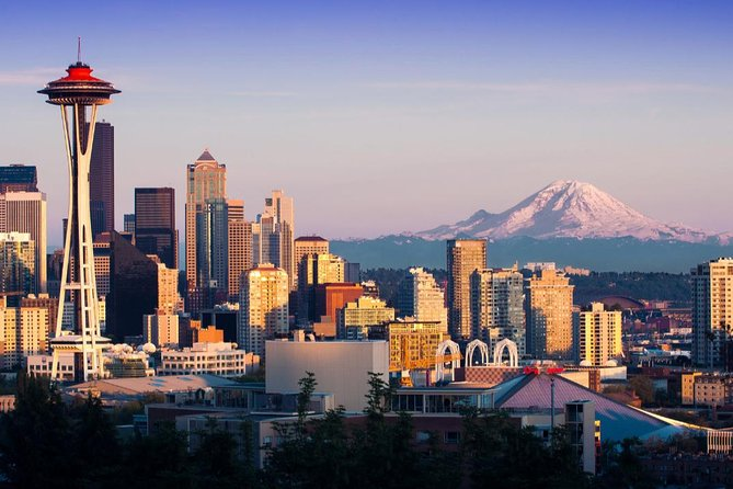 Up to 14 Pax: Private Half Day Seattle Tour, Includes Cruise-Hotel-Air Transfer