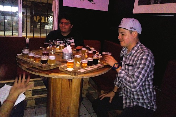 Mexican Craft Beer Tasting with a brewing expert