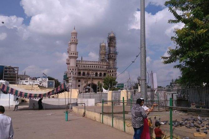 Promenade guidée de la vieille ville à Hyderabad avec prise en charge et retour