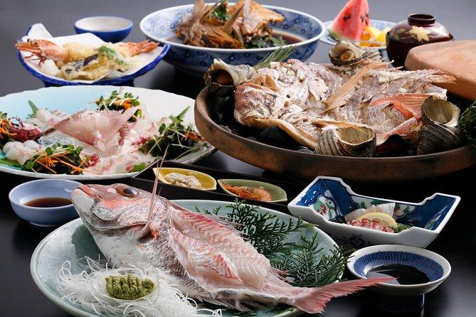 Hyogo Scenic Open-air Bath and Sea Bream 'Ikizukuri' Lunch Plan