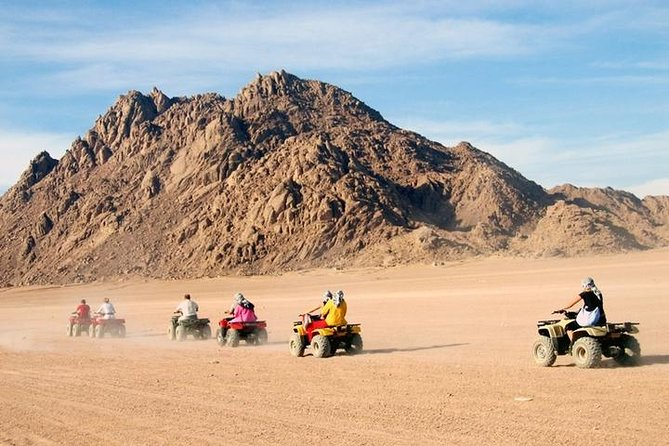 Quad biking with Camel ride & Beduin dinner