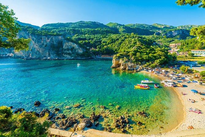 Private Tour of Corfu Beaches Paleokastritsa and Glyfada