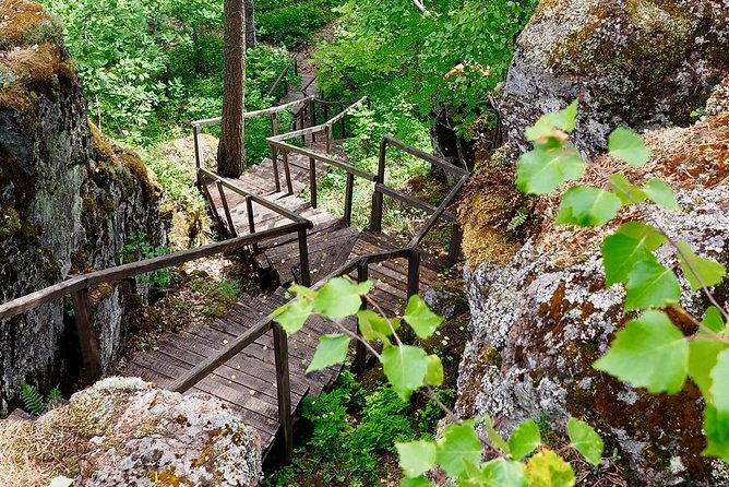 """Private Hiking Tour: Discover """"Karelian Path""""! Get to the Top of Sampo Mountain."""