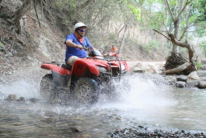 ATV and Zipline Adventure Combo Tour with Tequila Tasting