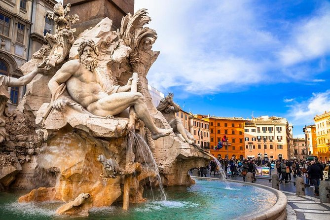 Full Day: Piazzas & Fountains and Vatican Museums - Pick up and Lunch included