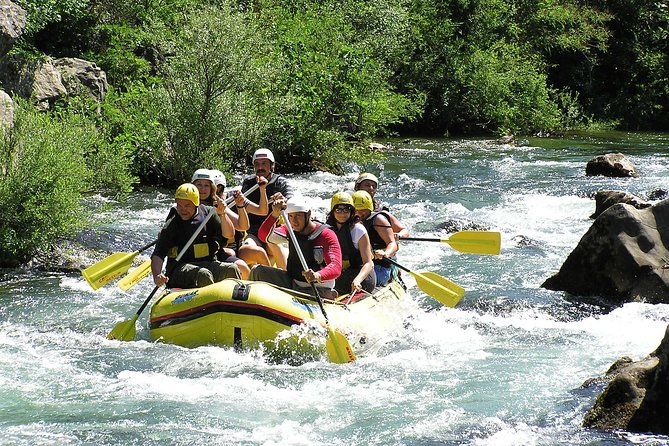 From Makarska: Rafting River Cetina