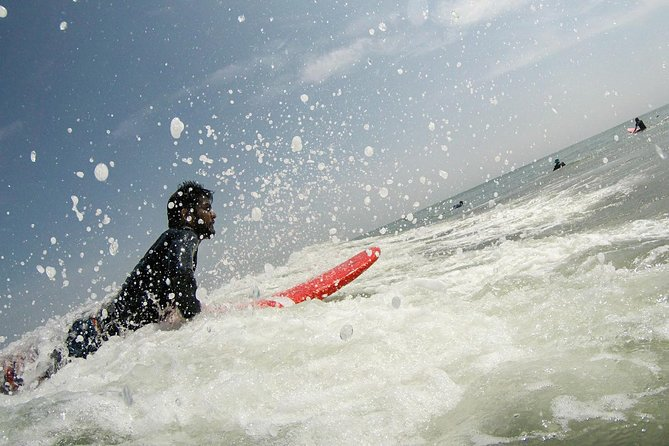 Surfing Classes - Day trip from Chennai