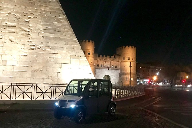 Romantic Rome - private Golf Cart tour by night