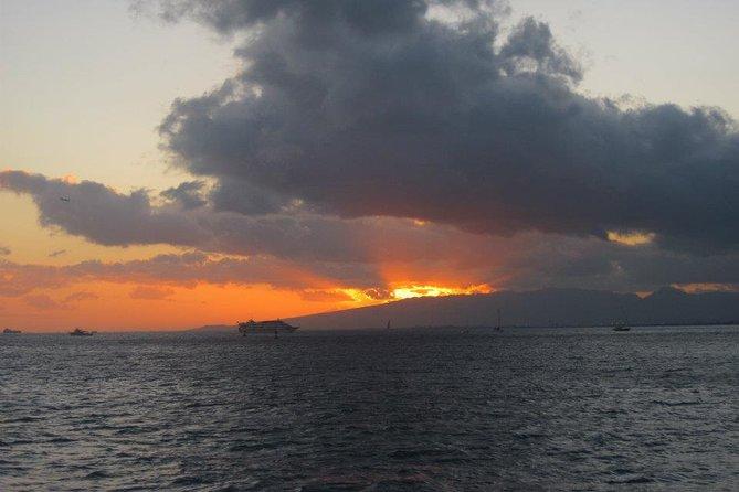 Kona-Kohala Coast Sunset Sail by Catamaran from Waikoloa