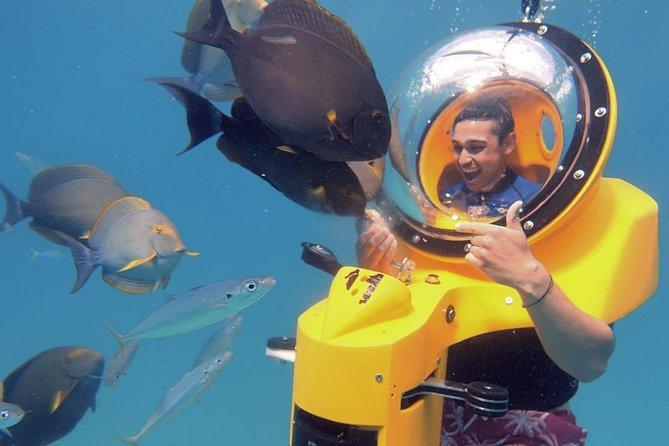 Oahu onderwaterscooter avontuur
