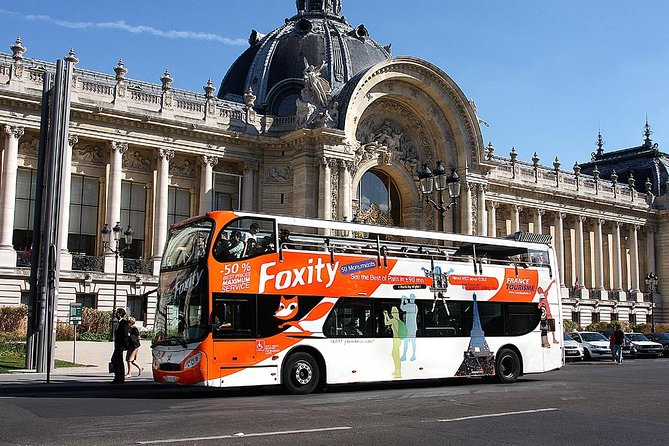 Paris City Sightseeing Bus Tour