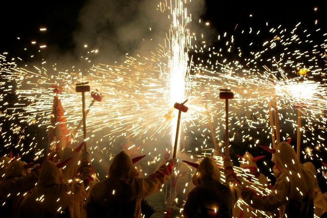 Experience Catalonia: Correfoc Fire Running Festival Experience from Barcelona photo 10