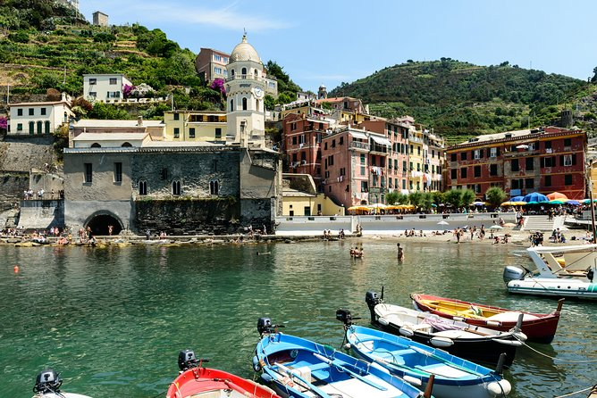 Livorno Shore Excursion Small Shared Group Tour : Cinque Terre and Pisa