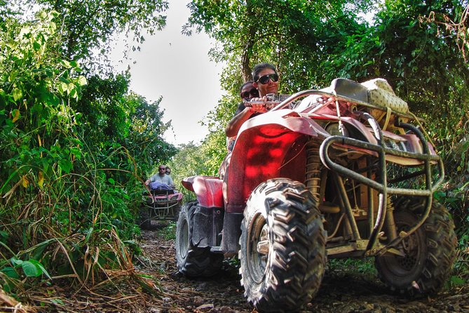 Private Jungle Tour ATV Zipline Cenote Half day trip