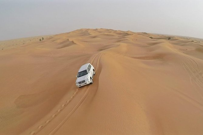 DESERT SAFARI Pickup BY BUS Dune Bashing By Land Cruiser