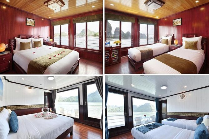 Overnight 2-Day Cruise to Halong Bay with Kayaking and Floating Village