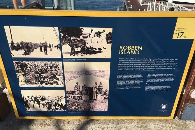 Robben Island transfers/hotel, . Robben Island confirmed 24 hours prior
