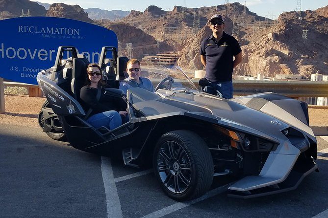 SinCity Moto Guided Polaris Slingshot Hoover Dam Tour