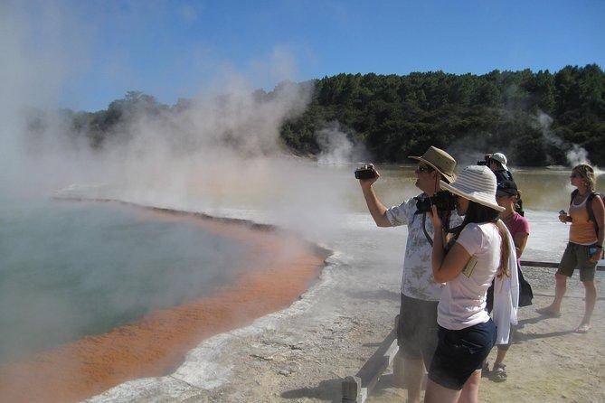 Rotorua small group full-day tour, Wai O Tapu, Waimangu and Te Puia