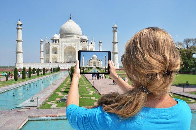Taj Mahal-tur från Delhi med bil