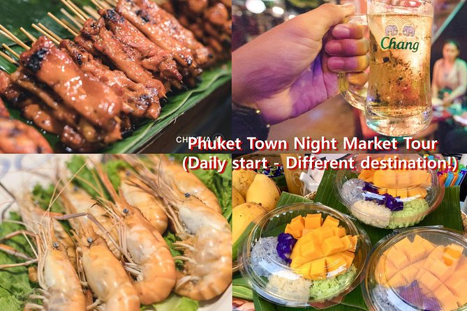 Phuket town night market tour