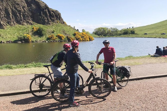 Edinburgh Sky to Sea Bike Tour by Manual or E-Bike