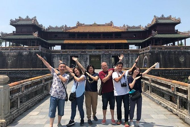 Shore Excursions from CHAN MAY port to DISCOVER HUE city tour & Royal Tomb