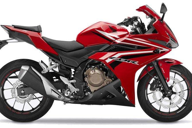 Motorcycle Rental: Honda CBR500R
