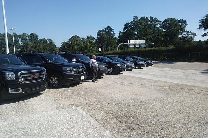 Car from Houston to Galveston,Houston-Galveston,Black SUV IAH AIRPORT-Galveston