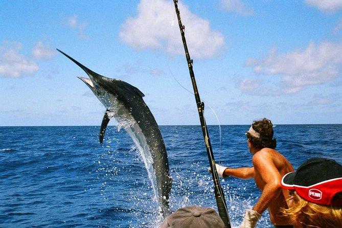 Experience deep sea fishing off the coast of Raya Island