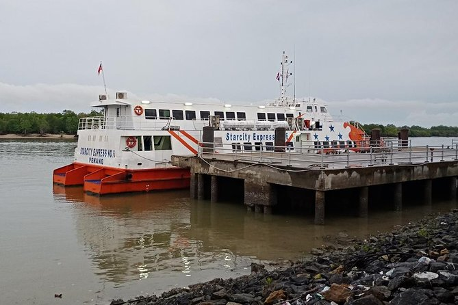 Krabi To Langkawi (Malaysia) by Air-conditioner Van and High Speed Ferry