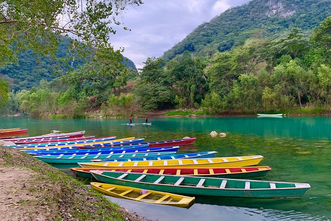 Wooden canoe trip