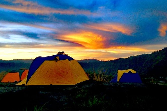 Mount Batur Camping : Sunset And Sunrise