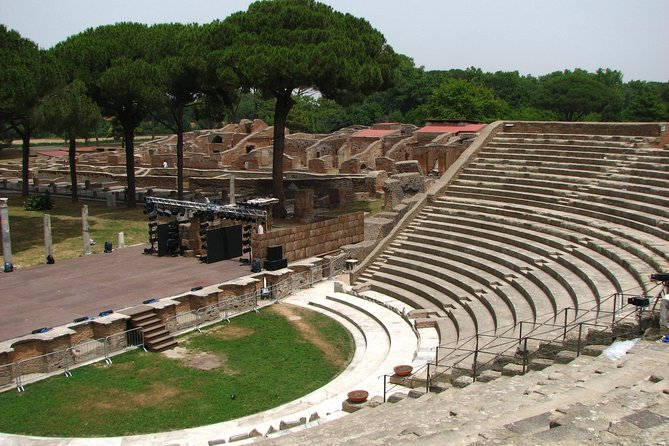Shore Excursion from Civitavecchia Port to Ostia & Cerveteri with Private Driver