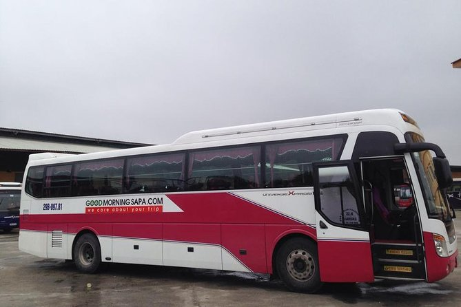 Sleeper Bus From Sapa to Hanoi(1Way)