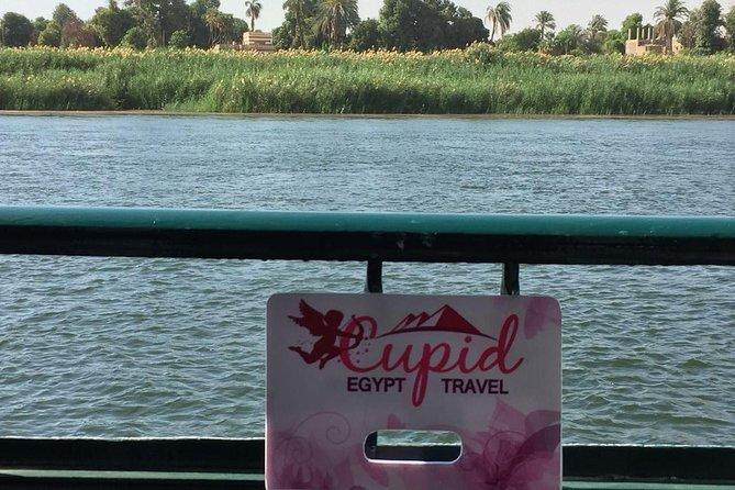 Crucero de 4 días por el Nilo con paseo en globo aerostático desde Asuán