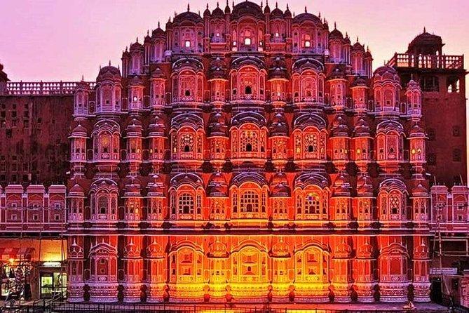 4 Nächte 5 Tage Delhi-Agra-Jaipur Golden Triangle Tour