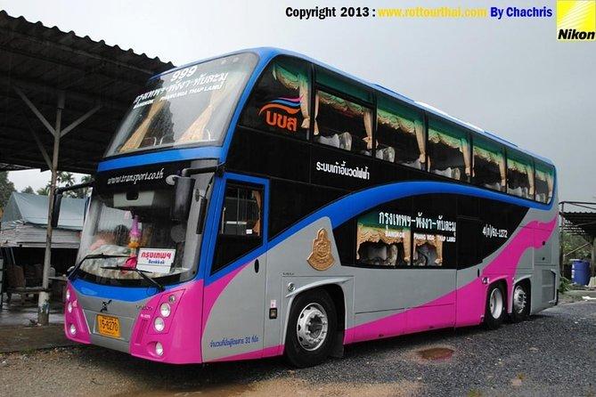 Bangkok to Phuket VIP Bus