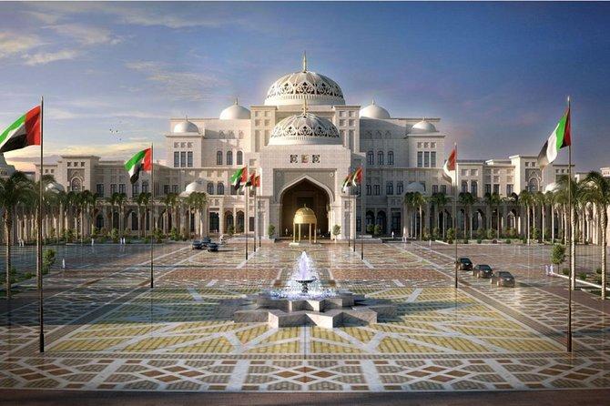 Visite de la ville d'Abu Dhabi au départ de Dubaï